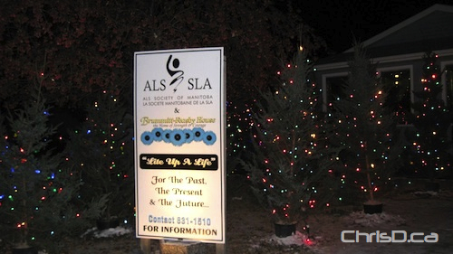 ALS Society of Manitoba - Tree Lighting