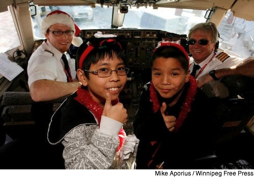 Santa Flight 2008