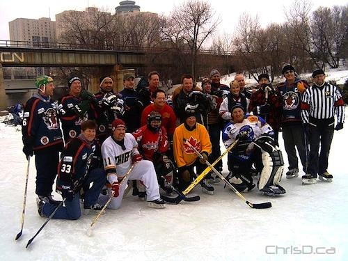 Winnipeg Jets - Media - Hockey Game