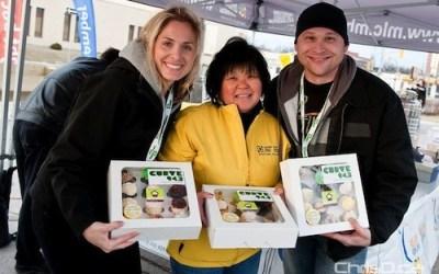Cupcake Day Raises Big Money for Cancer Society