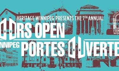 7th Annual Doors Open Winnipeg This Weekend