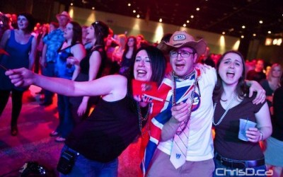 Manitobans Party It Up at World's Largest Social