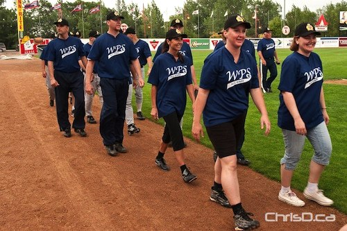 Winnipeg Police Service All-Stars - Softball Team