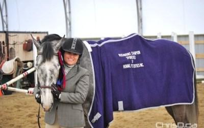 Ex-Winnipeg Reporter Winning Big in Horse-Jumping Circuit