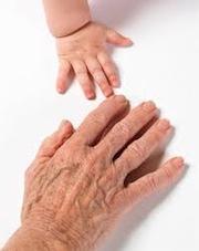 Senior - Child Hands