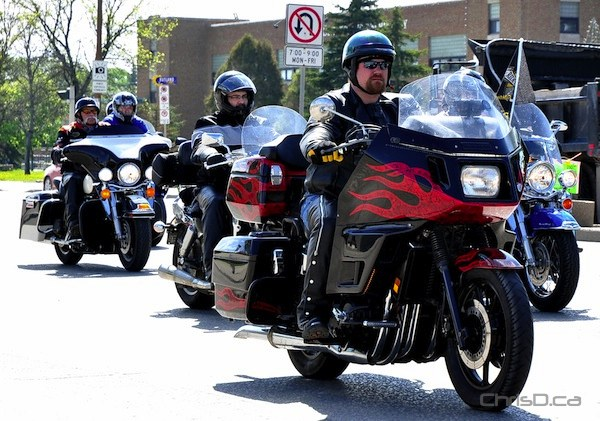 Manitoba Motorcycle Ride for Dad (MARC EVANS / CHRISD.CA)
