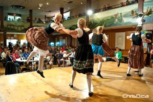 Dancers at Folklorama's German Pavilion perform in this 2010 file photo. (TED GRANT / CHRISD.CA)