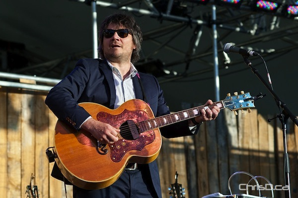Jeff Tweedy of Wilco performs on the final day of the Winnipeg Folk Festival, Sunday, July 10, 2011. (TED GRANT / CHRISD.CA)