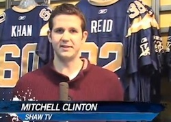 Mitchell Clinton Named Shaw TV's New Sports Reporter