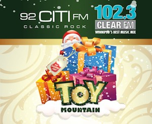 Final Day For Toy Mountain Donations At Polo Park