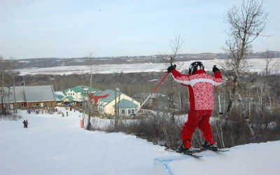 Manitoba, Sask. Ski Hills Teaching Beginners January 15