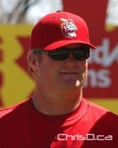 Winniepg Goldeyes manager Rick Forney (MAURICE BRUNEAU / CHRISD.CA FILE)