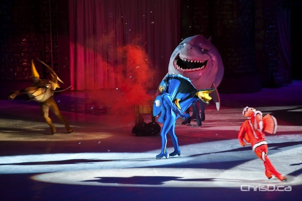 """Characters from """"Finding Demo"""" perform during the opening night of Disney On Ice at MTS Centre on Thursday, January 26, 2012. The 100 Years of Magic celebration runs until Sunday. (TED GRANT / CHRISD.CA)"""