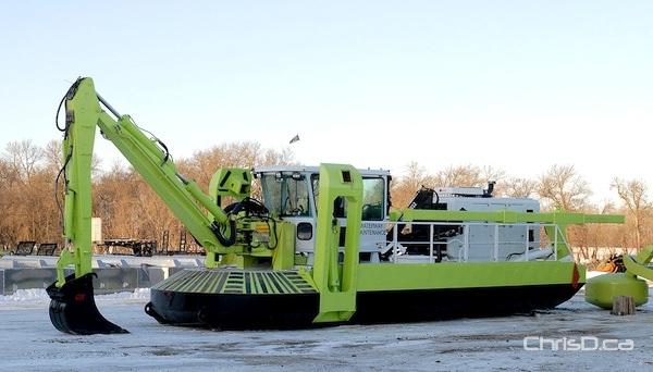Amphibex ice-breaker