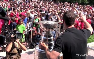 Winnipeg Rolling Out Red Carpet for Jonathan Toews