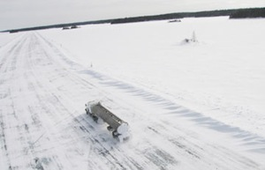 Manitoba's Winter Road System Opens for the Season