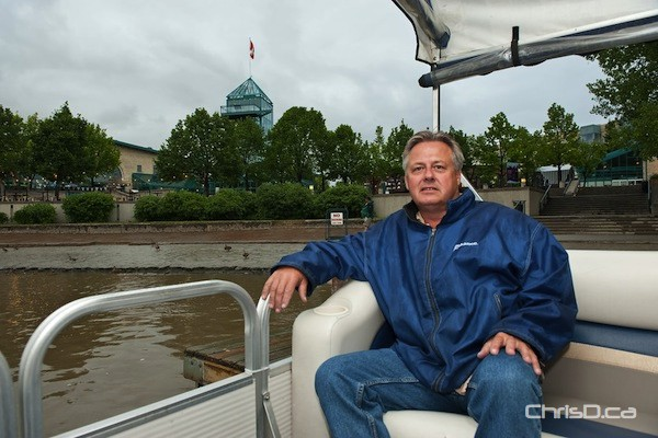 Gord Cartwright, owner and operator of Splash Dash Boat Tours (TED GRANT / CHRISD.CA FILE)