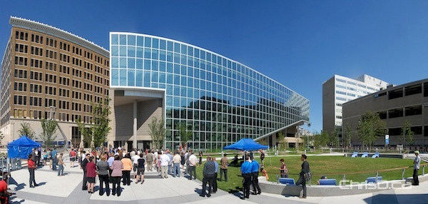Millennium Library Park in downtown Winnipeg is officially opened on Friday, July 20, 2012. (STAN MILOSEVIC / CHRISD.CA)