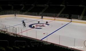 MTS Centre - Winnipeg Jets Ice Logo