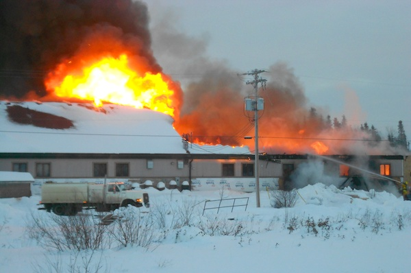 Norway House Fire
