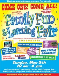 Winnipeg Parent Family Fun and Learning Fair