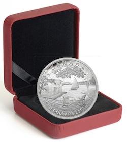 3 Dollar Silver Coin - Martin Short