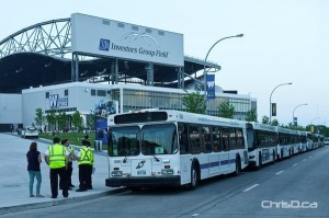 Investors Group Field - Buses