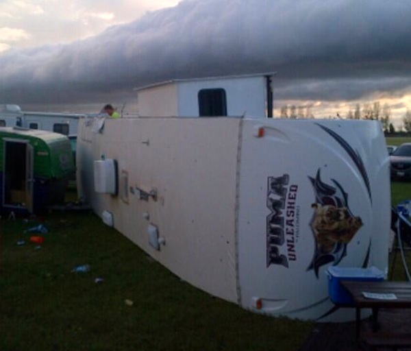 Pipestone Trailer Tornado