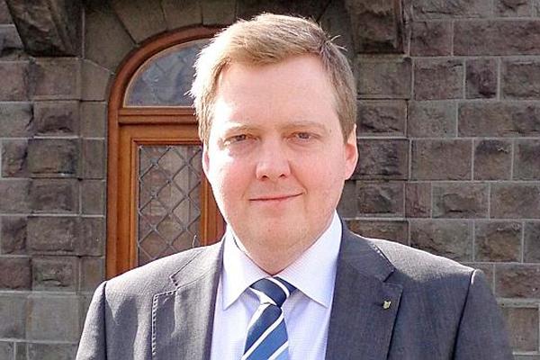 Iceland Prime Minister Sigmundur Gunnlaugsson. (HANDOUT)