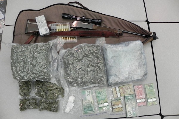 The Pas - Weapons and Drugs Seizure