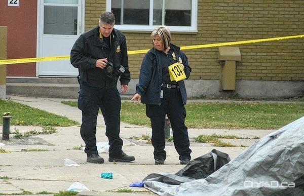 Robinson Street Homicide