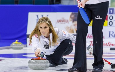 Olympic Curling Champ Jones and Laing Make Long Distance Relationship Work