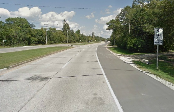 Among the provincial highways slated for refurbishment is Highway 9 north of 9A near Selkirk, which will get two kilometres of concrete refurbishment. (GOOGLE STREETVIEW)
