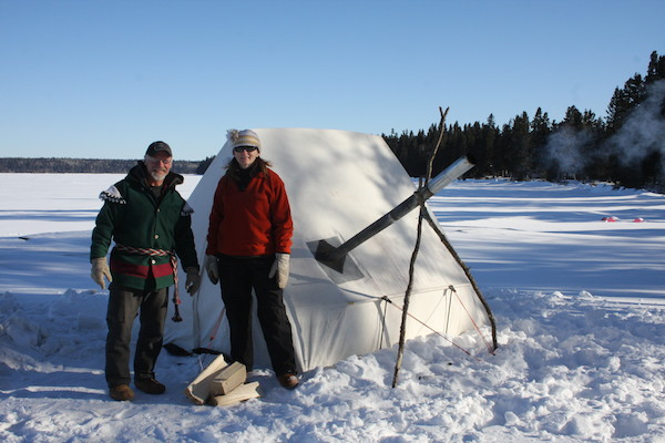 Clear Lake Winter Camping