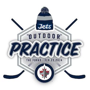Winnipeg Jets Outdoor Practice