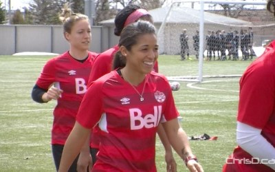 Desiree Scott Giving Back Through Inaugural Soccer Camp