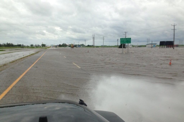 Highway 1 Flooding