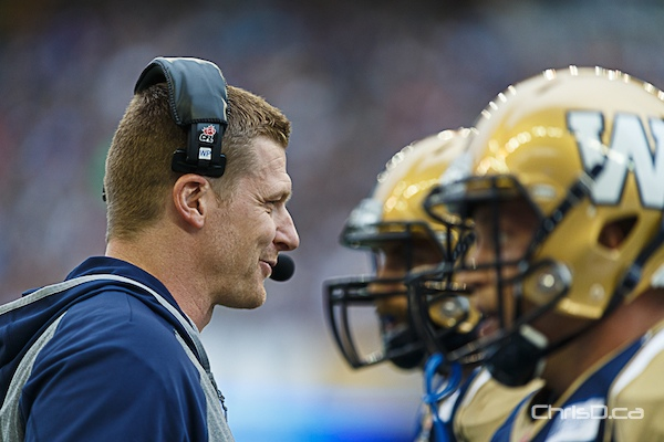 Mike O'Shea - Winnipeg Blue Bombers