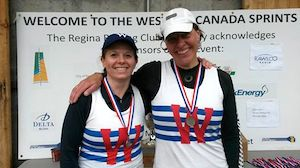 Winnipeg Rowing Club - Master Women's Double