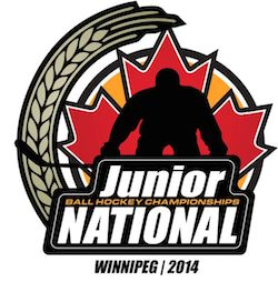 2014 Canadian National Junior Ball Hockey Championships
