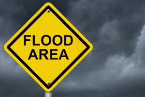 Flood Area Sign
