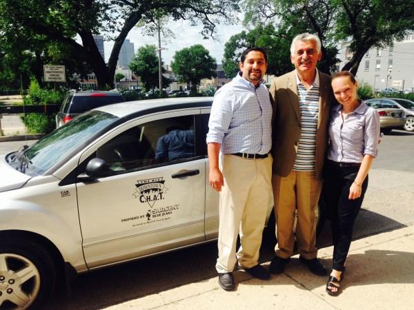The Downtown BIZ's CHAT program now has a vehicle. (Downtown Winnipeg BIZ/Handout)