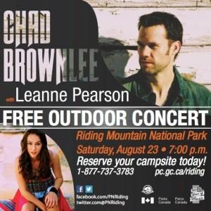 Chad Brownlee Concert