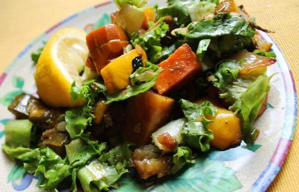 Roasted Summertime Vegetable Salad