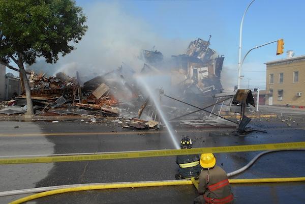Dauphin Towers Hotel Fire