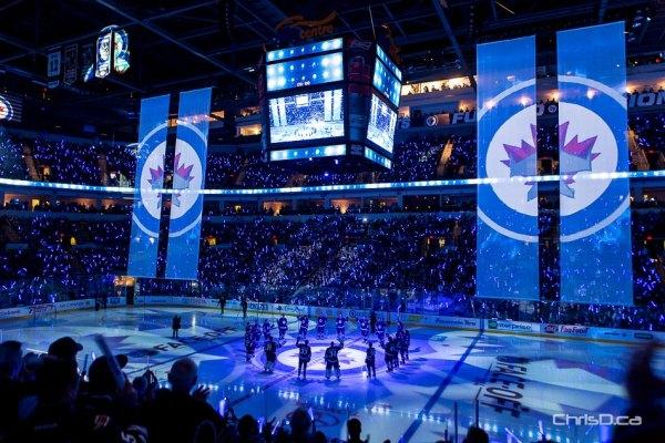 Winnipeg Jets Home Opener