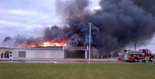 Dauphin Funeral Home Fire
