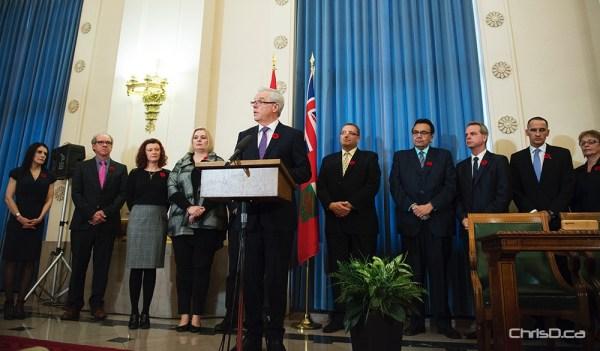 Greg Selinger Cabinet