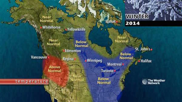 Winter Outlook 2014 - The Weather Network