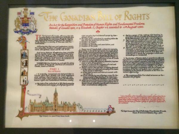 1960 Bill of Rights
